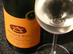 Sacred Hill Marlb Sauv Blanc 2012
