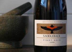 Saddleback Pinot Noir 2008