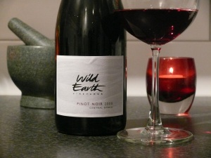 Wild Earth Pinot Noir 2008