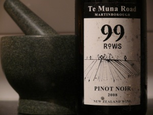 99Rows Pinot Noir 2008
