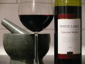 Corbans White Label Cabernet  Merlot