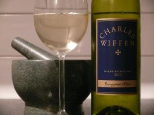 Charles Wiffen Marlborough Sauv Blanc 2012