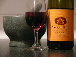 Sacred Hill Marlb Pinot Noir 2011
