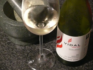 Vidal Dry Riesling 2011