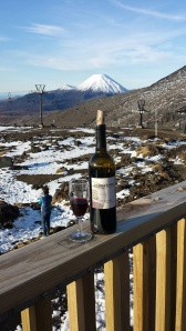 Sebastiani Zinfandel 2009 in the snow