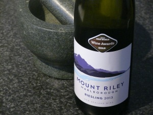 Mount Riley Riesling 2013