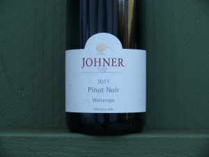 Johner Pinot Noir 2011