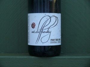 Mt Difficulty Pinot Noir 2008