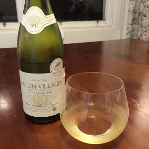 Macon-Villages Chardonnay Cave de lugny 2013