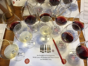 Escarpment Tasting 2015