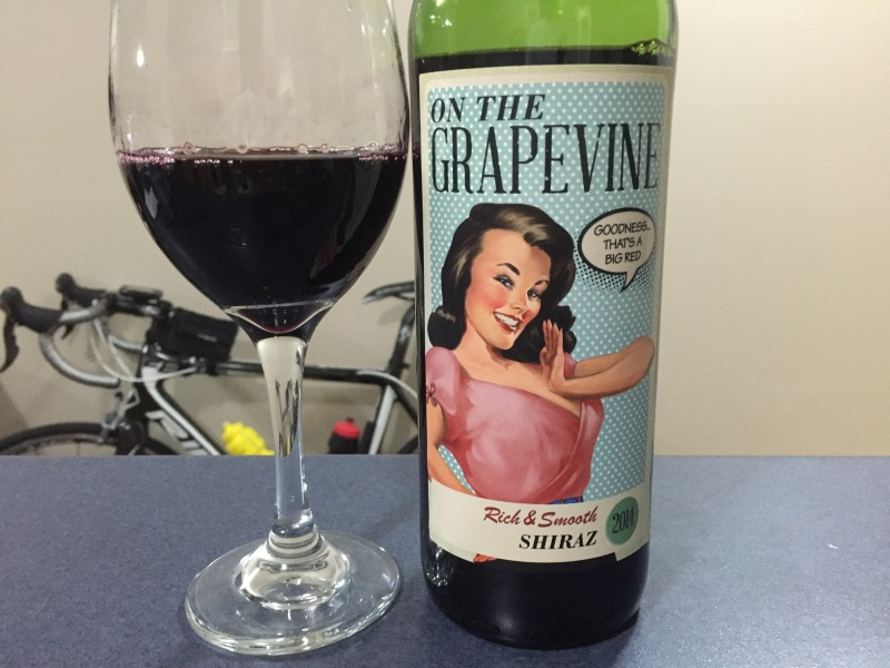 Grapevine Shiraz 2014
