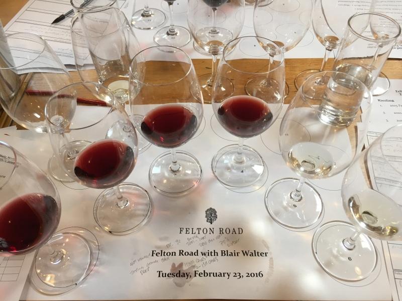 Felton Road tasting 1