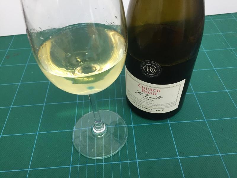 CR McDonald Chardonnay 2015