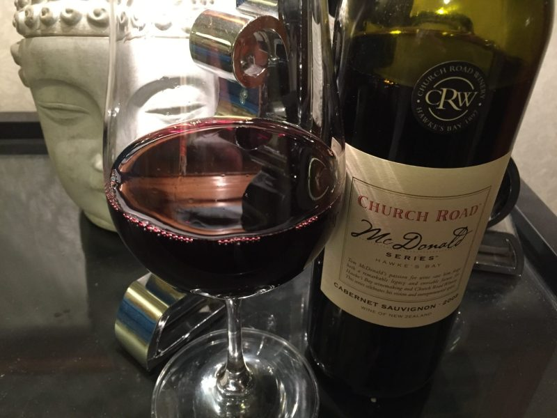 CR McDonald Cab Sav 2009