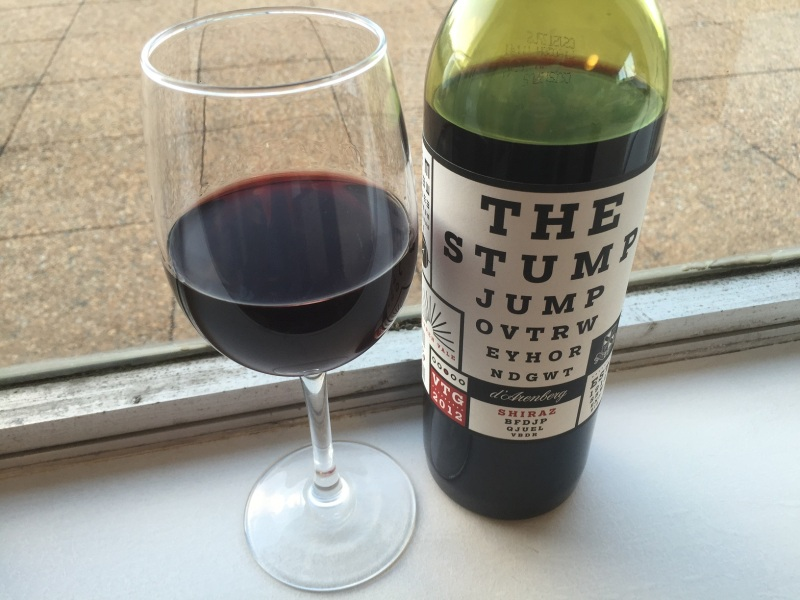 d'Arenberg Stump Jump Shiraz 2012