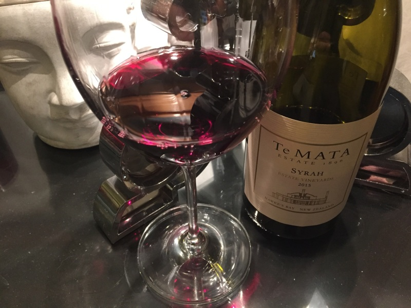 Te Mata Estate Syrah 2015