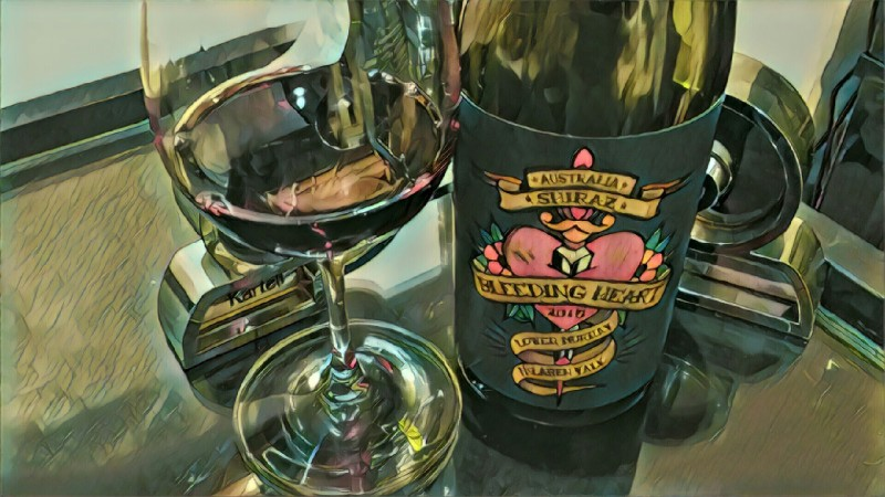 Bleeding Heart Shiraz 2015