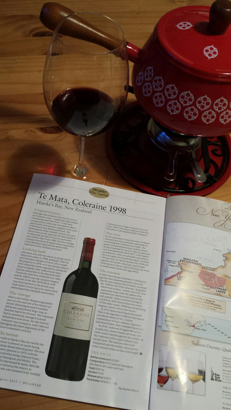 Te Mata 1998 Decanter