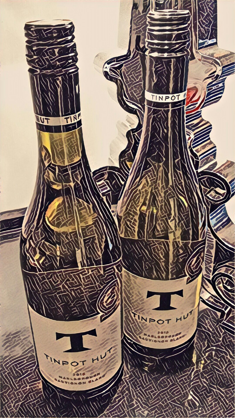 Tin Pot Hut Sav Blanc 2016