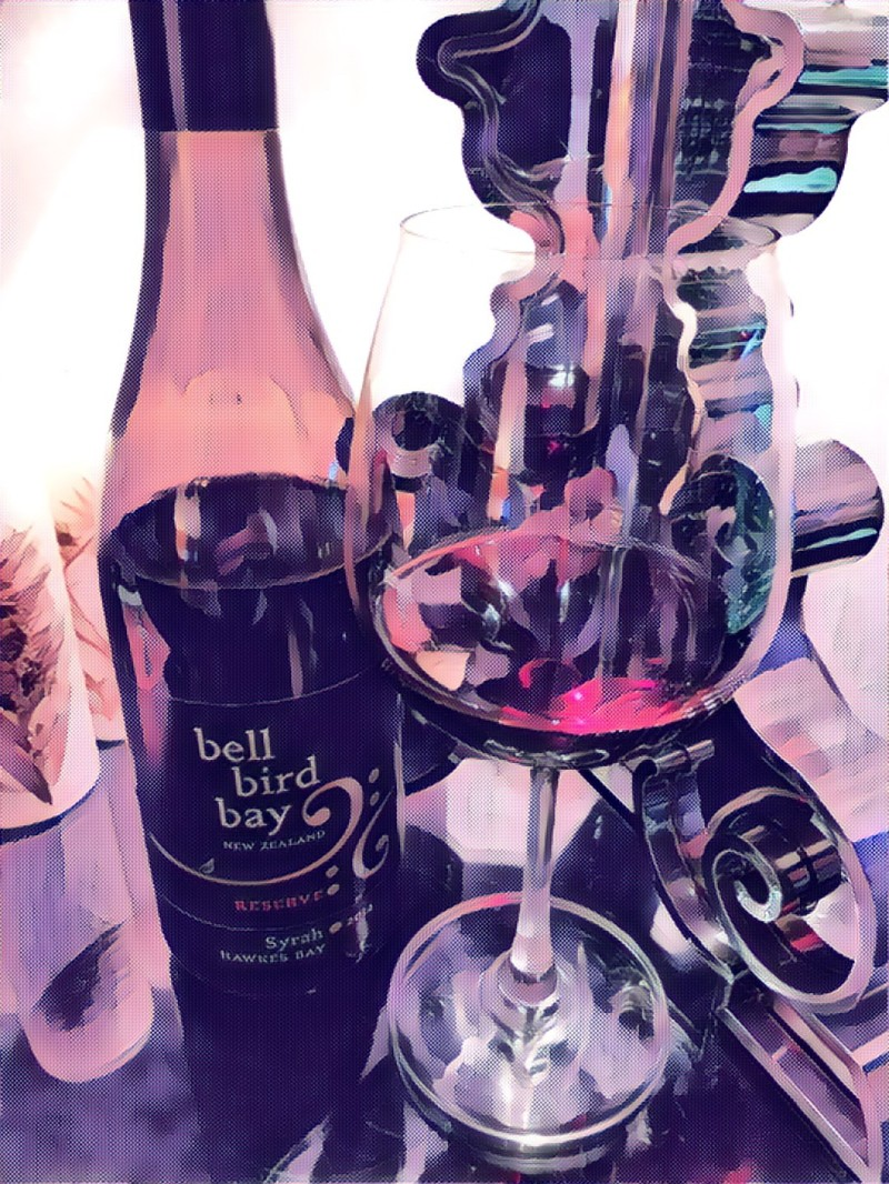 Bell Bird Bay Syrah 2014